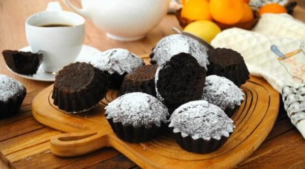 Кексы на кефире в духовке — простые и вкусные рецепты ...