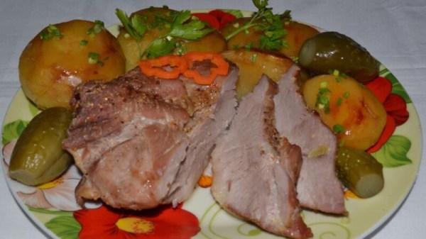 Свинина с картошкой в духовке – простые и вкусные рецепты ...
