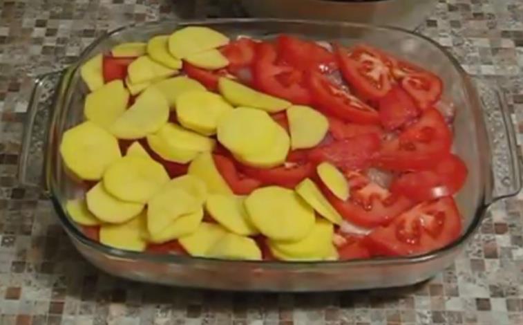 lägg ut potatisen