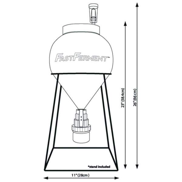 fast ferment set na výrobu piva