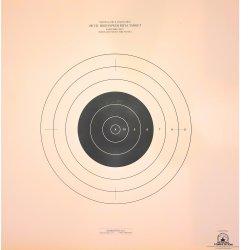 SR-21 - 100 Yard Reduction of 300 Yard Rifle Target (Pack of 100)