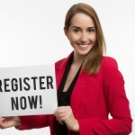 How does a domain registration system work?