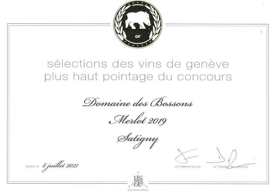 Le Sanglier pour le Domaine des Bossons!!!