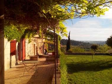 Photos - Vue sur la terrasse du Viala