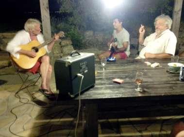 Photos - Soirée guitare au Domaine du Viala
