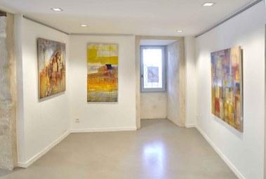 Expositions d'artistes à la boutique Domaine de Lagoy à St Rémy de Provence