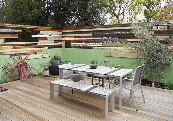 comment am nager une terrasse agr able domaine maison le blog de l 39 toffe du lieu d coration. Black Bedroom Furniture Sets. Home Design Ideas