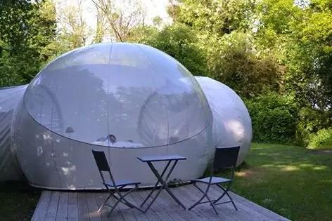 Cabane Bubble