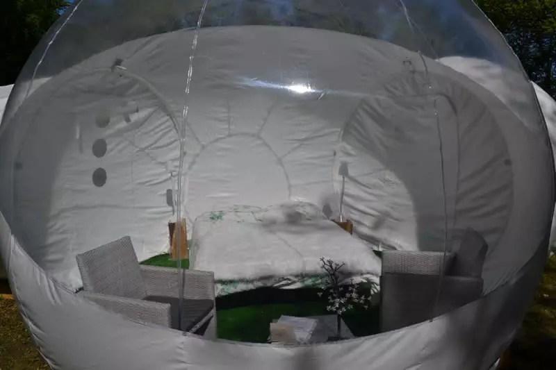 Disponibilités de la tente Bubble Star