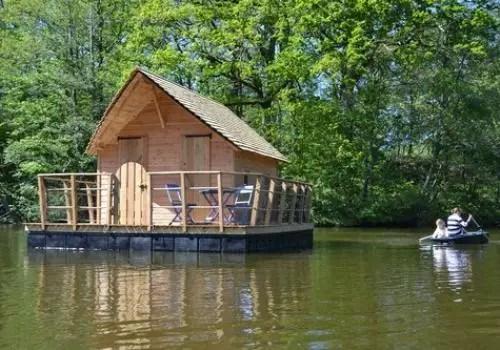 Cabane flottante Belle Ile