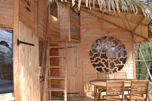Cabane Lisbonne – cabane dans les arbres en famille