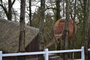 Cabane Lov nid au domaine des vaux