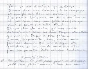 Témoignage, un rêve d'enfant au Domaine des Vaulx