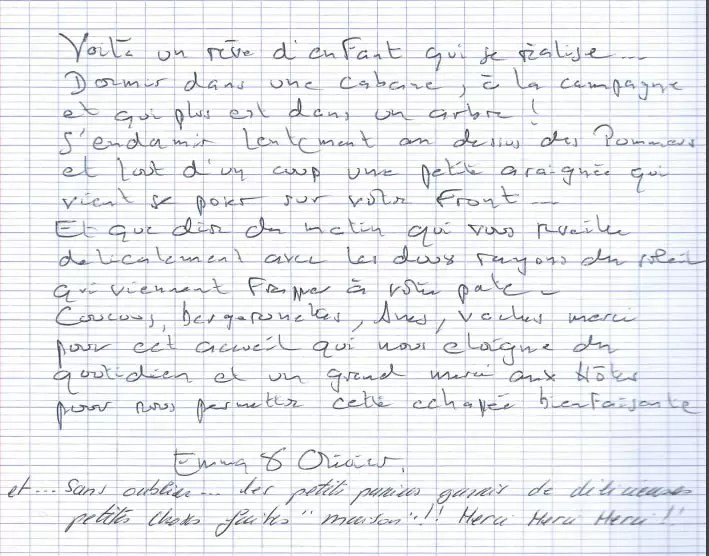 Un rêve d'enfant qui se réalise, Domaine des Vaulx