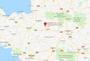 Cabane dans les arbres au sud de la Normandie