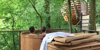 Cabane Lov'nid, profiter du bain nordique