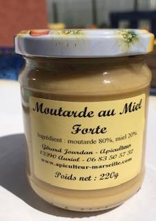 Pot de moutarde au miel forte