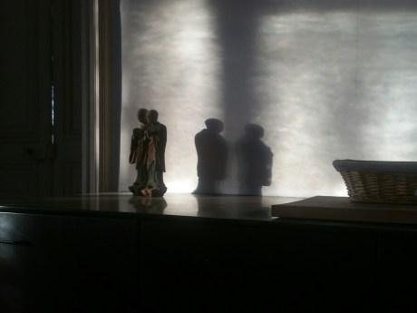 Chinese Monk Statues Kitchen