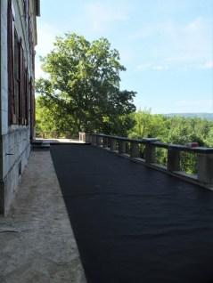 EPDM on Terrace