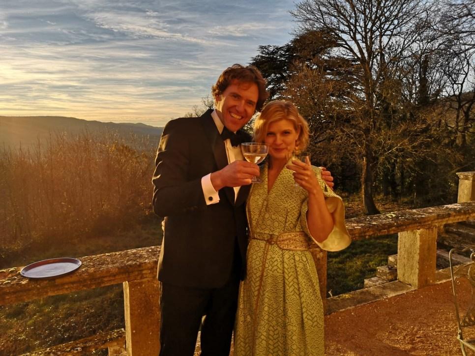 Thomas & Veronique Champagne Terrace