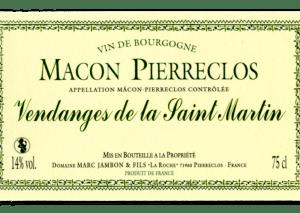Vendange de la Saint-Martin Domaine Marc JAMBON et Fils