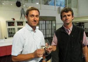 Pierre-Antoine JAMBON et Michel PRUDHON - Domaine Marc JAMBON et Fils