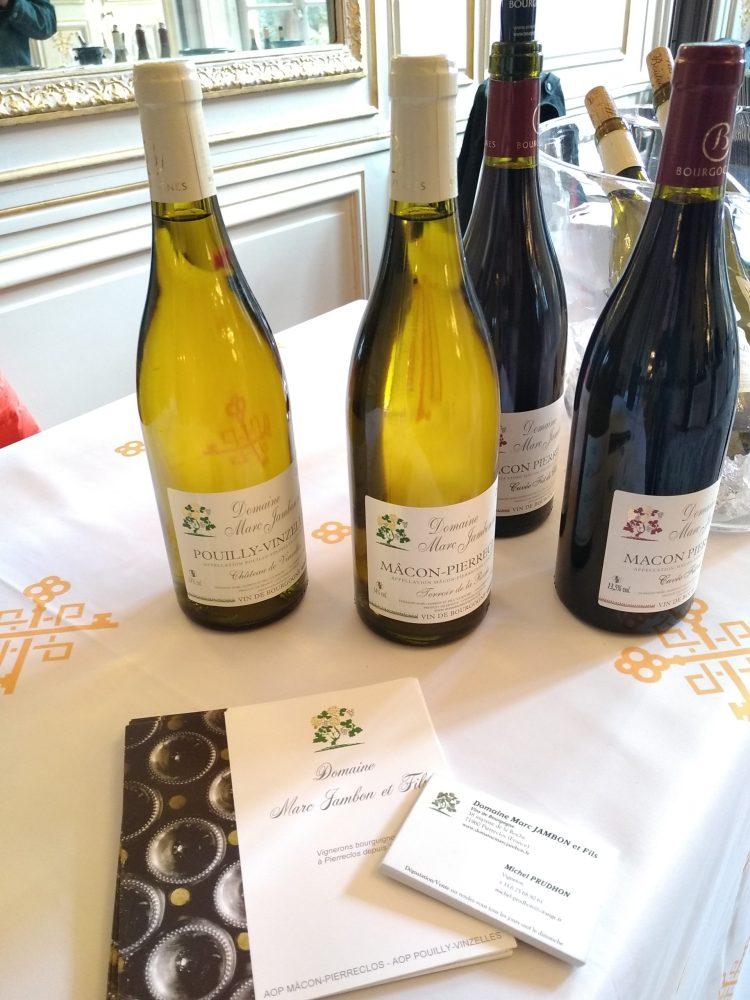 Domaine Marc JAMBON et Fils - Mâcon-Pierreclos - Pouilly-Vinzelles - Vin de France Liquoreux