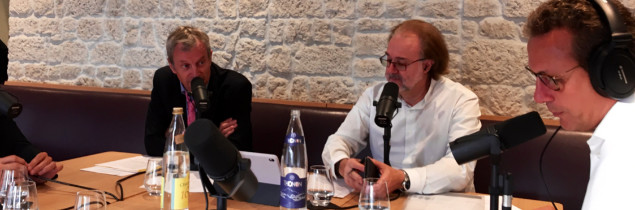 Phillipe FAURE-BRAC - Alain MARTY - Emission IN VINO - Sud Radio - Domaine Marc JAMBON et Fils - Macon-Pierreclos Rouge 2015