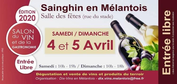 Salon des Vins et de la Gastronomie - Sainghin en Mélantois