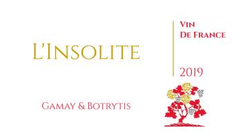 L'INSOLITE - GAMAY & BOTRYTIS - Vin de France Liquoreux - Domaine Marc JAMBON et Fils à PIERRECLOS