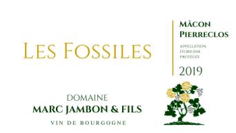 """Mâcon-Pierreclos Blanc """"Les Fossiles"""" - Domaine Marc JAMBON et Fils à PIERRECLOS"""