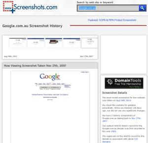 Screenshots.com example