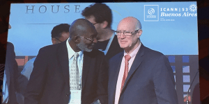 Nii Quaynor and ICANN Chair Steve Crocker