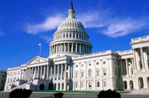 Washington Capitol Building. Credits.