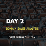 domain sales analysis