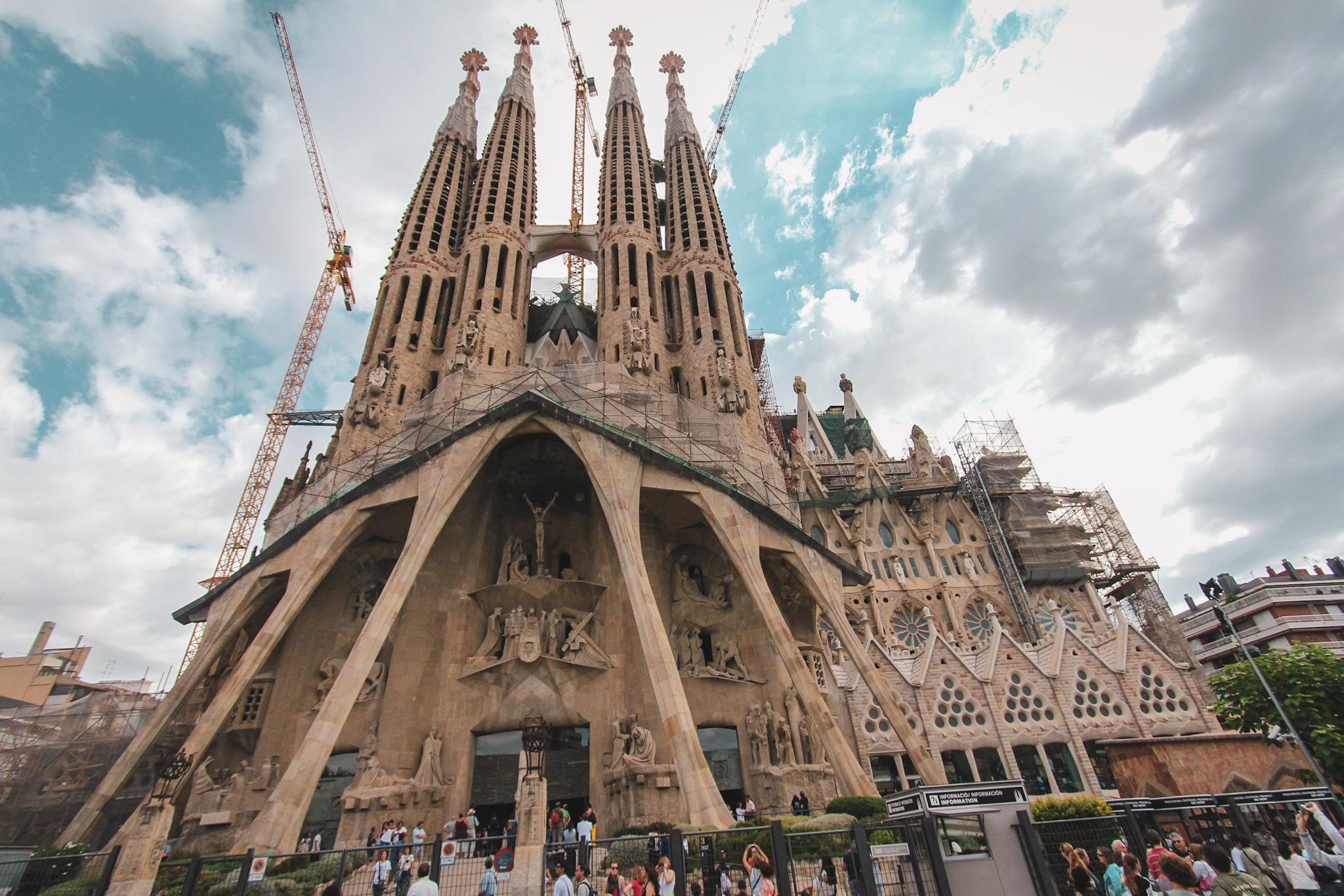 Sagrada Familia Cathedral, Gaudi, Barcelona
