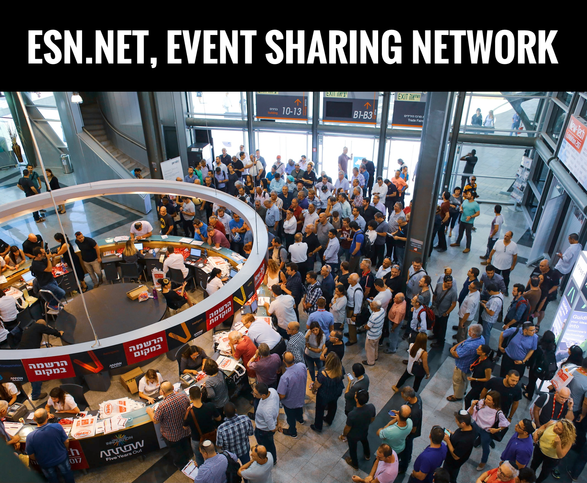 ESN.net, event sharing network, domain name for sale