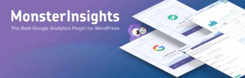 Google Analytics - MonsterInsights Plugin