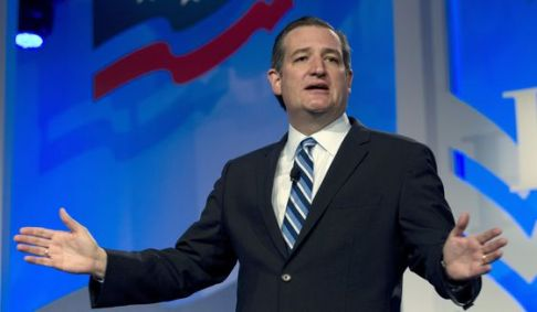 Republican presidential candidate Sen. Ted Cruz, R-Texas speaks during the Values Voter Summit, held by the Family Research Council Action, Friday, Sept. 25, 2015, in Washington. (AP Photo/Jose Luis Magana) ** FILE **