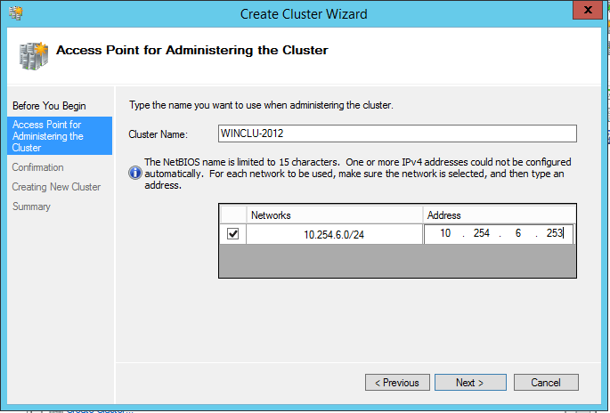 domalab.com install clustered SQL access point