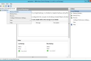 Exchange 2016 Windows Backup