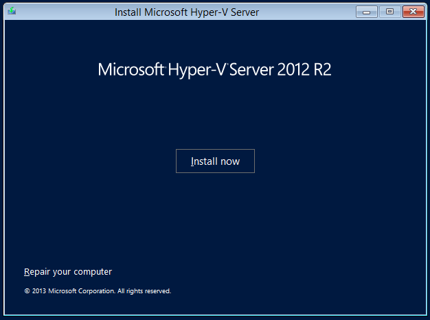 domalab.com Hyper-V nested install ready
