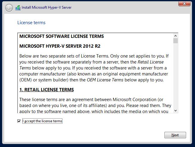 domalab.com Hyper-V nested install license