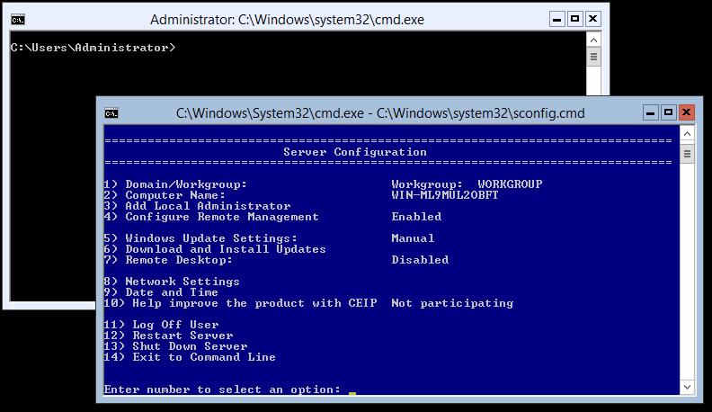 domalab.com Hyper-V nested install configure hostname
