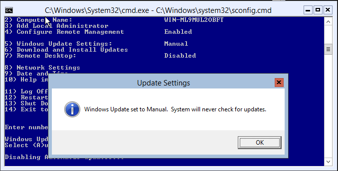 domalab.com Hyper-V nested install windows update