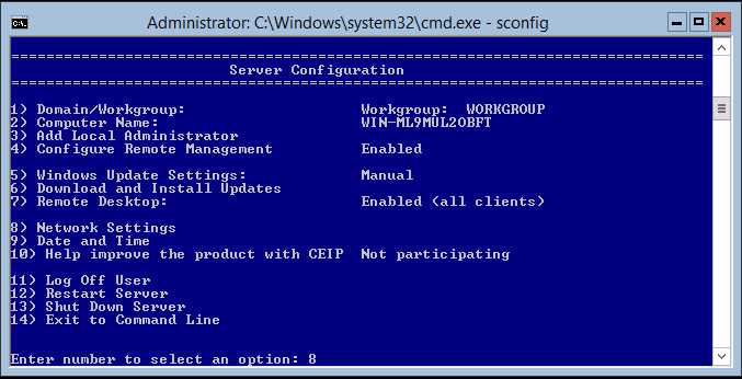 domalab.com Hyper-V nested install IP address