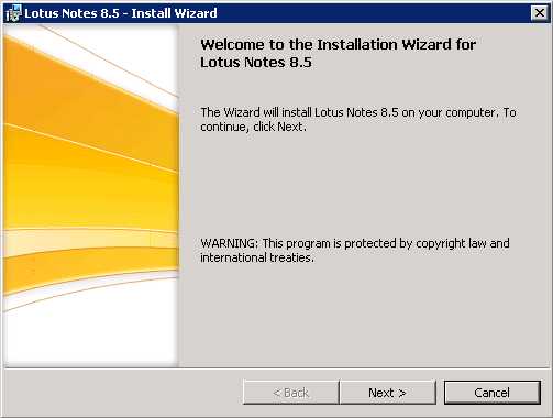 domalab.com configure Domino lotus notes wizard