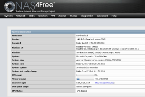 NAS4Free Configuration