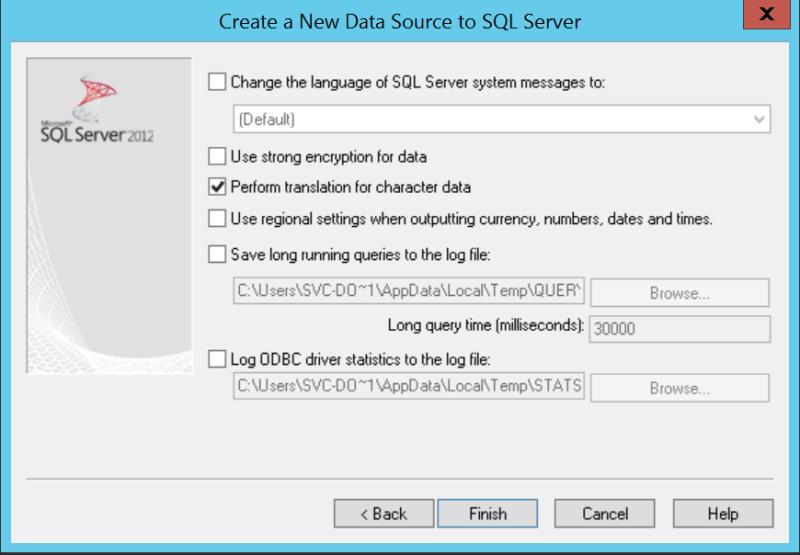domalab.com VMware vCenter Deploy DSN wizard