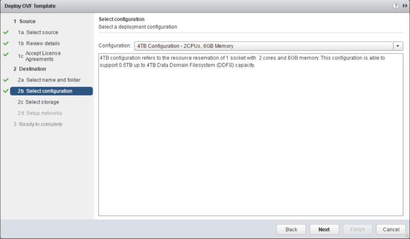 domalab.com Data Domain virtual edition ovf configuration